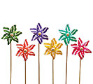 SUMMER COLORS PINWHEEL PICK SET