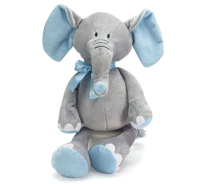 PLUSH BLUE/GRAY ELEPHANT