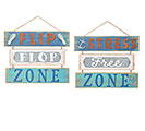 WALL HANGING BEACH SIGN ASTD