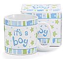 IT'S A BOY CERAMIC MUG W/ BOX