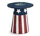 PATRIOTIC CENTERPIECE/BOTTLE HOLDER