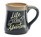 LIFE IS AN ADVENTURE PORCELAIN MUG