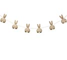 LINEN BUNNY BOTTOMS GARLAND