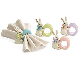 EASTER RABBIT RESIN NAPKIN RING