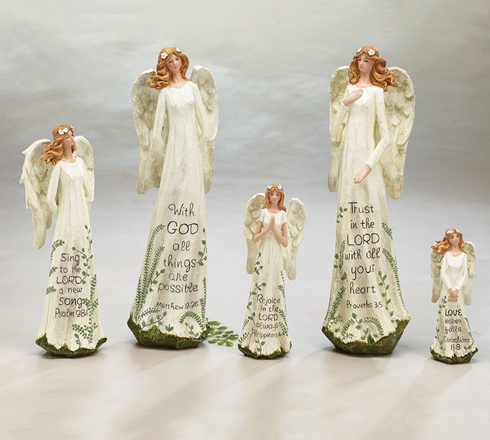 SPRING ANGEL ASSORTED SIZES/MESSAGES SET