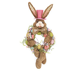 BUNNY HEAD WREATH