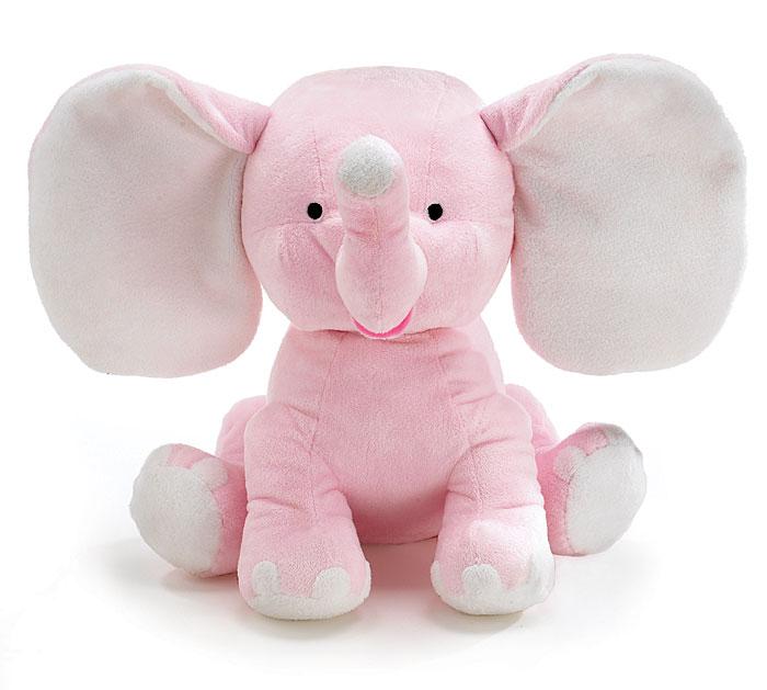PLUSH PINK SISSY ELEPHANT