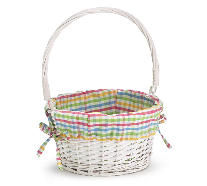 WILLOW AND PLAID EASTER BASKET