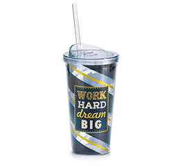 WORK HARD/DREAM BIG TRAVEL CUP