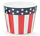 "6"" PATRIOTIC MELAMINE POT COVER"