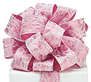 RIBBON #9 PINK LACE OVERLAY