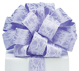 #9 LAVENDER LACE RIBBON