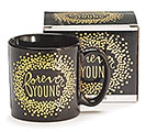 FOREVER YOUNG CERAMIC MUG W/BOX