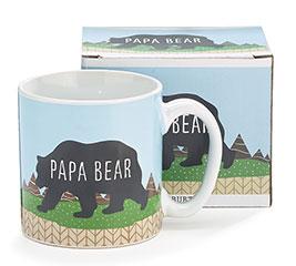 PAPA BEAR CERAMIC MUG WITH BOX