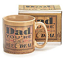 DAD YOU'RE THE REAL DEAL MUG W/ BOX