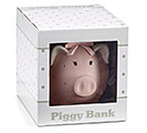 PINK SWISS DOT RESIN PIG BANK 1st Alternate Image