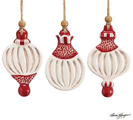 HEAVEN AND NATURE SING ORNAMENT SET