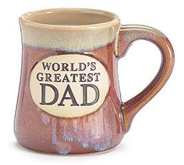 WORLD'S GREATEST DAD PORCELAIN MUG