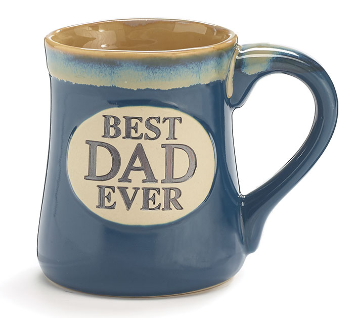 BEST DAD EVER PORCELAIN MUG W/ BOX