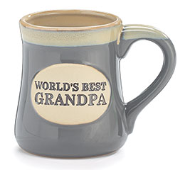WORLD'S BEST GRANDPA PORCELAIN MUG