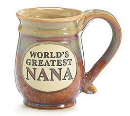 WORLD'S GREATEST NANA PORCELAIN MUG