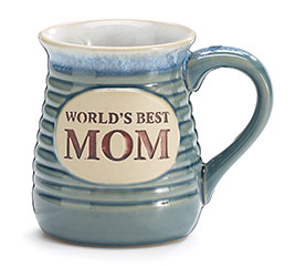 WORLD'S BEST MOM PORCELAIN MUG