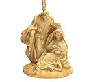 HOLY FAMILY RESIN ORNAMENT