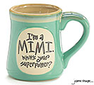 I'M A MIMI SUPERPOWER CERAMIC MUG