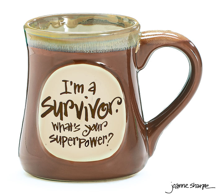 SURVIVOR SUPERPOWER PORCELAIN MUG