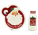 SANTA FACE COOKIES FOR SANTA GIFT SET