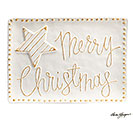 WHITER THAN SNOW MERRY CHRISTMAS TRAY