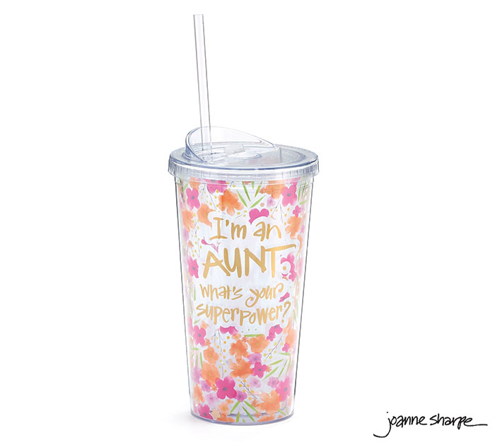 AUNT SUPERPOWER TRAVEL CUP