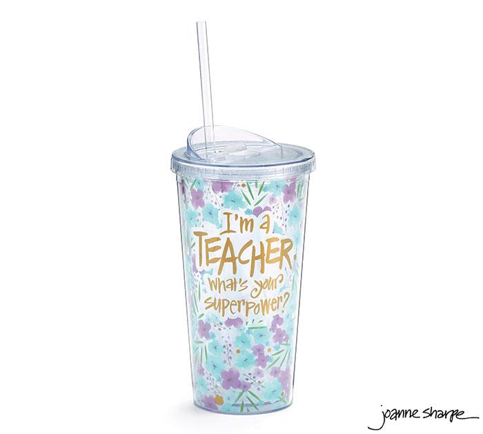 TEACHER SUPERPOWER TRAVEL CUP