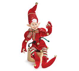 PLUSH CHRISTMAS ELF DECOR
