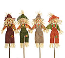 "28"" FABRIC SCARECROW PICK SET"
