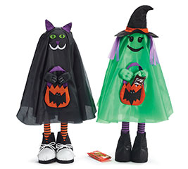 STANDING GHOULS TRICK OR TREAT PALS