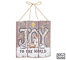 A KING IS BORN JOY WALL HANGING