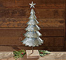 LARGE GALVANIZED TIN DECOR TREE