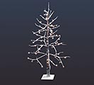 "48"" LED SNOWCOVERED DECOR TREE"