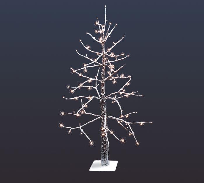 "48"" LED SNOWCOVERED DECOR TREE"