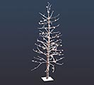 5' LED SNOWCOVERED DECOR TREE