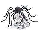 SPIDER HEADBAND WITH TULLE WEB VEIL
