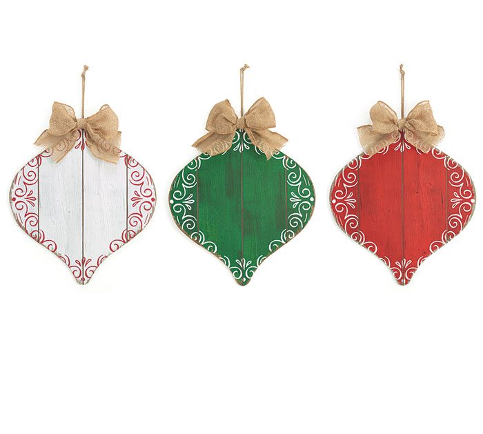CHRISTMAS ORNAMENT WALL HANGING SET