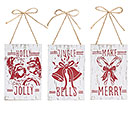 HANDMADE HOLIDAY CHRISTMAS ORNAMENT SET