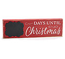 CHRISTMAS COUNTDOWN SHELF SITTER