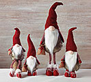 FUR BODY GNOME SET WITH LONG BEARDS