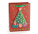SMALL CHRISTMAS TREE GIFT BAG