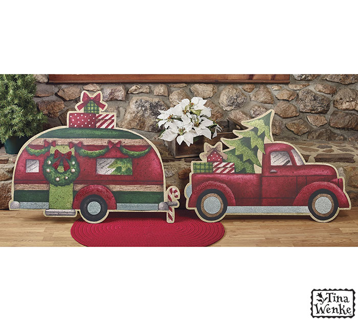 HOLIDAY ROAD TRUCK/CAMPER DISPLAY