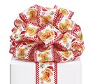 #40 GINGERBREAD MAN WIRED RIBBON