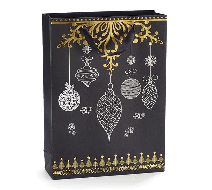 CHRISTMAS ORNAMENT DESIGN GIFT BAG